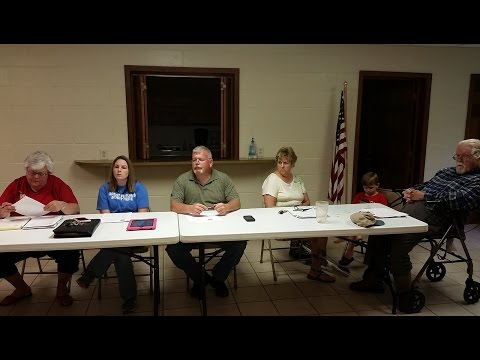 Town of Talking Rock Council ~ May 3, 2016