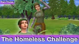 The Sims 4: Homeless Challenge // Appreciating Life (Part 3)