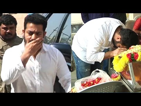 Jr NTR Emotional at Rajiv Kanakala Mother...