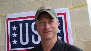 Actor Gary Sinise of the Lt.  Dan Band discusses his advocacy for veterans before USO concert