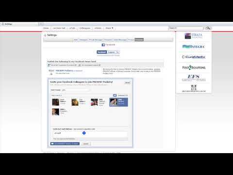 Present Learning How To Use Facebook