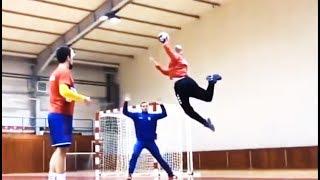 ◆【ハンドボール】驚愕!スーパーゴールのスゴさにビビる…pt2【トリックショット】handball super goals