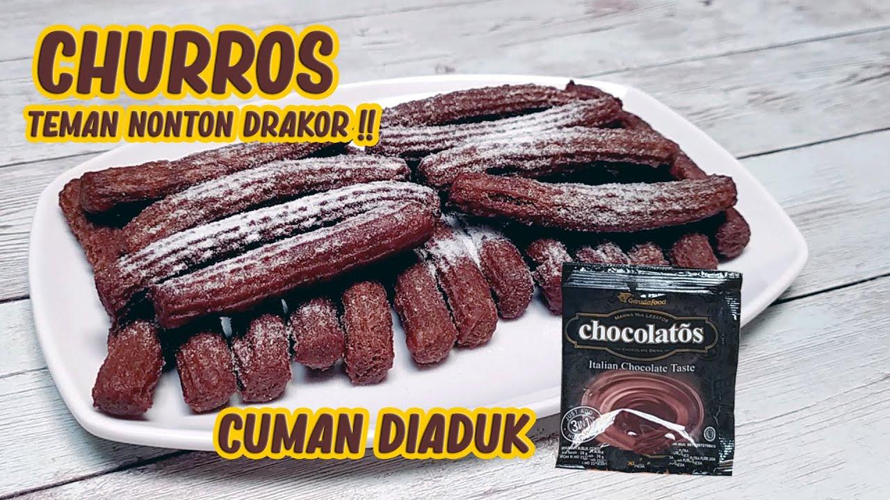 CHURROS CHOCOLATOS CUMAN DIADUK !! TEMAN NONTON DRAKOR #1