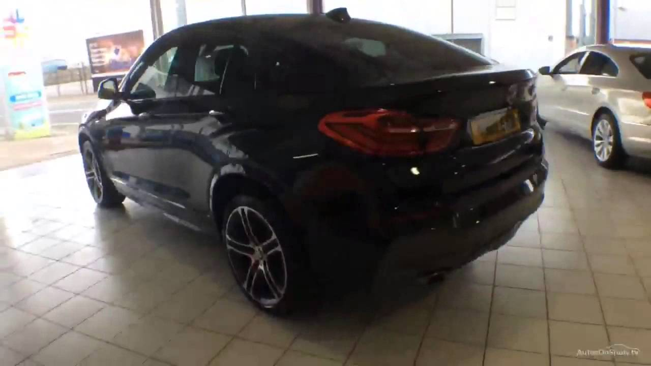 BMW X4 XDRIVE20D M SPORT BLACK 2015
