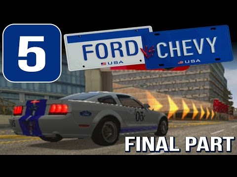 Ford vs. Chevy [HD][PS2] - (FINAL) Stage #5 - Final Showdown