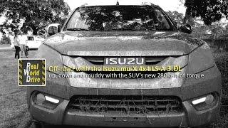Off-road with the Isuzu mu-X 4x4 LS-A 3.0L