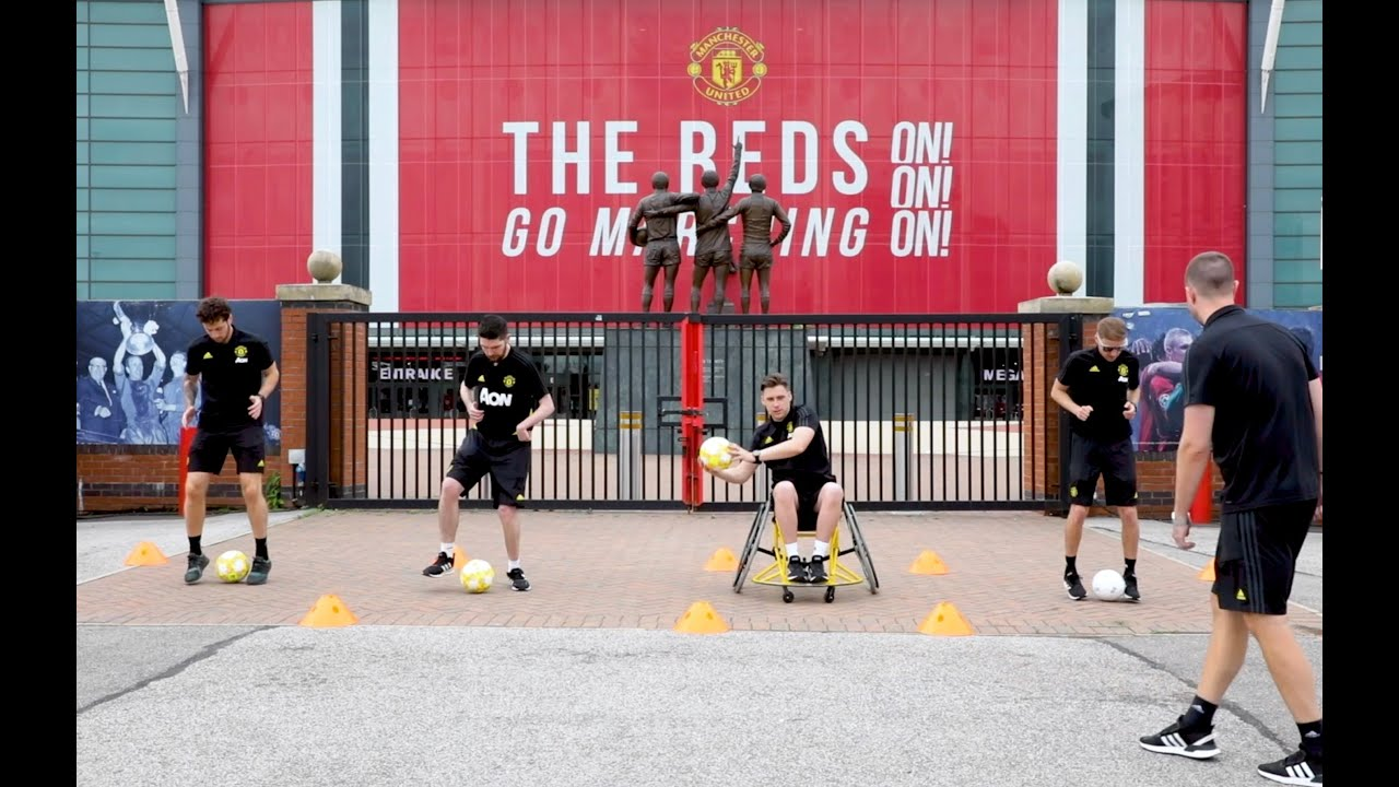 Inclusive Reds - Weekly Football Workout - Close control
