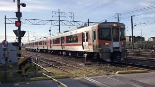 【稲沢線を走る臨時列車!】モーニングトレイン一宮 清洲駅付近出発 313系B202編成