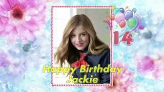 Happy Birthday Golden Heart - Jackie Evancho 2014