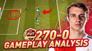 THE ONLY PLAYER LEFT UNDEFEATED IN CHAMPS (EXCEPT VEJRGANG) - JULIAN BERG FIFA 21 GAMEPLAY ANALYSIS