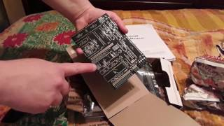 Unboxing the SBC-6120 PCB and hard to find parts kit