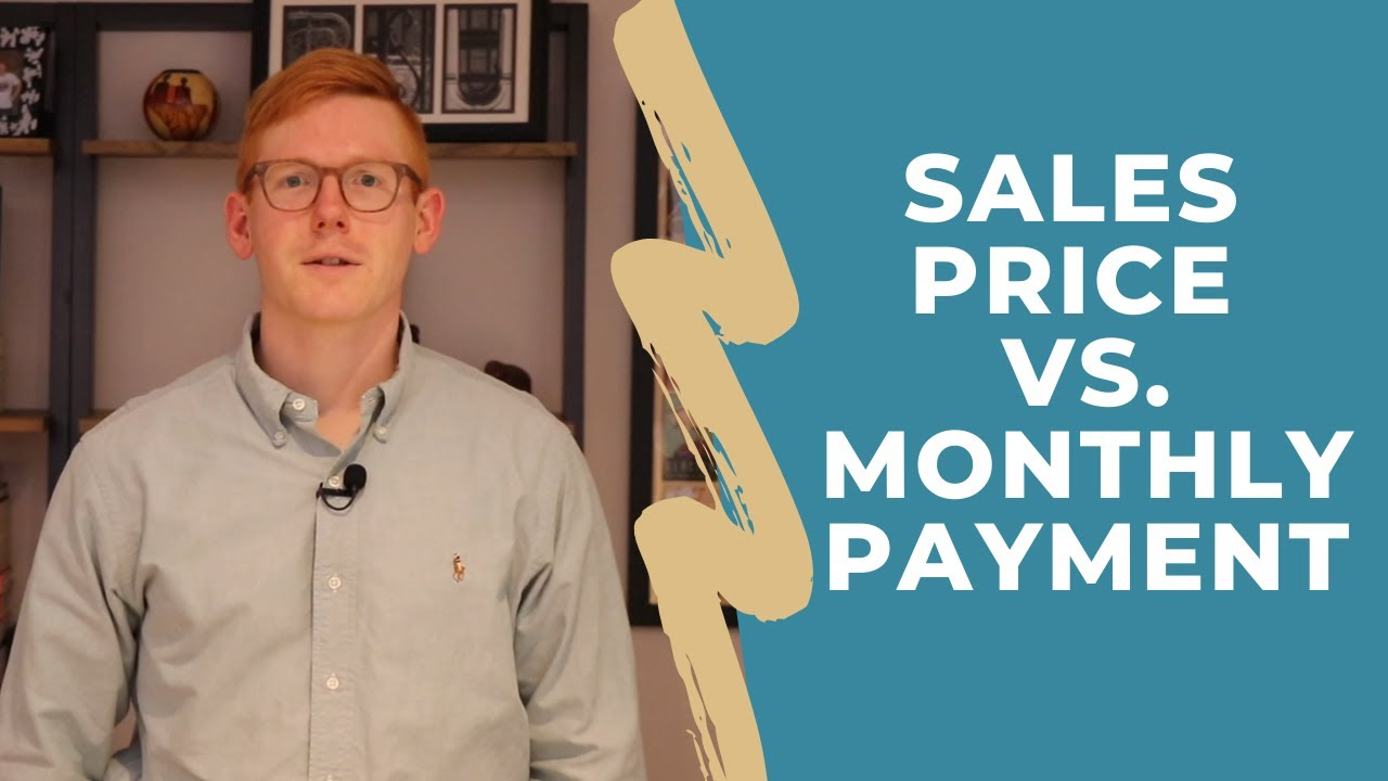 Sales Price vs. Monthly Payment - Why You Need to Understand the Difference!