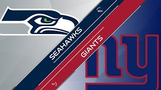 Season 10 - Week 7: Seattle Seahawks vs New York Giants