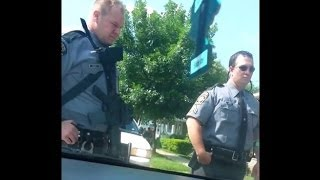 Woman defends Right to Bear Arms against Police Officers