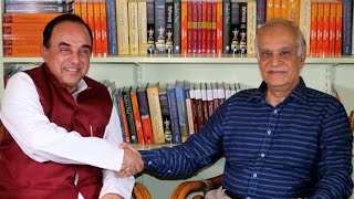 Rajiv Malhotra & Dr Subramanian Swamy in a Vibrant LIVE Broadcast on Strategic Issues #16