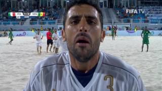 Match 28: Italy v Senegal - FIFA Beach Soccer World Cup 2017