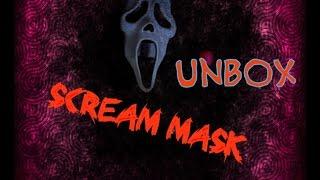 Scream mask unboxing/Обзор маски Крика