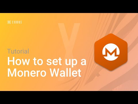 How To Set Up A Monero Wallet