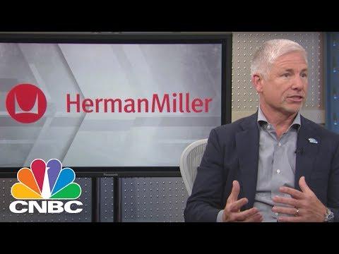 Herman Miller CEO: Re-Urbanization Trends | Mad Money | CNBC