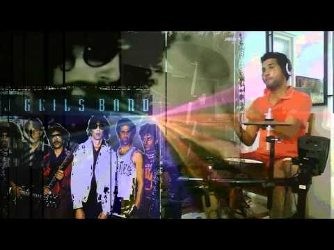 The J. Geils Band. Freeze Frame (drum Cover) Roland Td-11