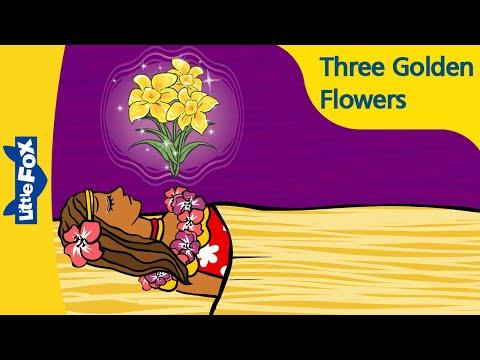 Three Golden Flowers | Folktales | Stories for Kids | Bedtime Stories