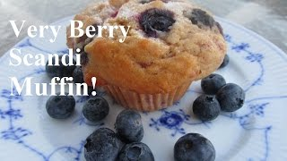How To Make A Homemade Delicious Berry Almond Muffin Recipe