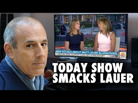 Are We Allowed To Believe Both Sides? - Today Show Chooses Theirs Against Matt Lauer