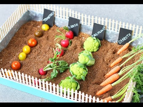 Lilyshop How to make an Easter Veggie Garden - YouTube