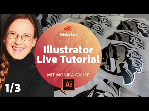 Illustrator Live Tutorial / mit Monika Gause - Adobe Live 1/3 thumbnail