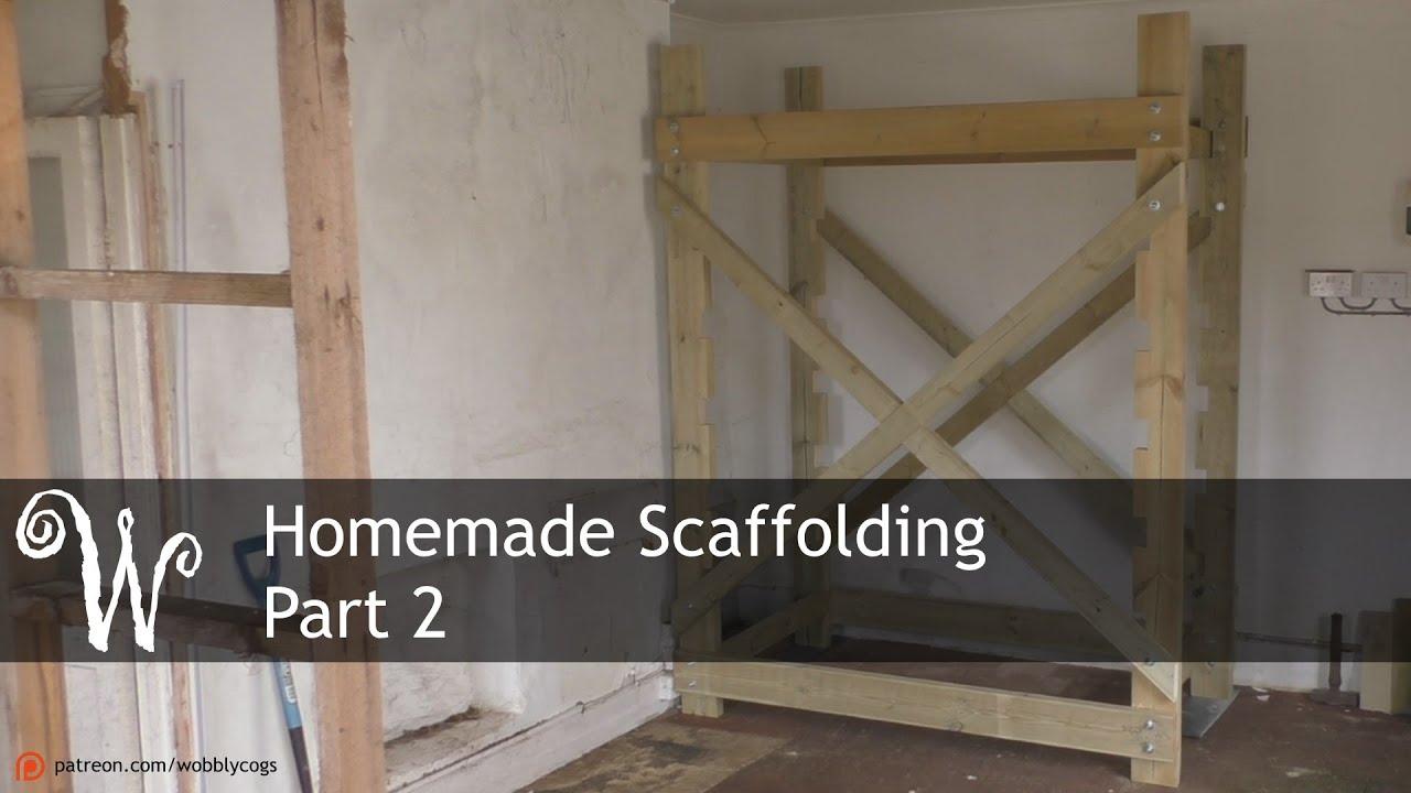 Homemade Scaffolding Tower - Part 2