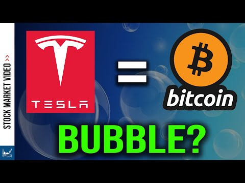 Is Tesla Stock In A Bitcoin Bubble?