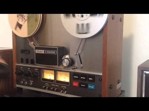 Teac A3300SX Demonstration Video Playing Frank Sinatra