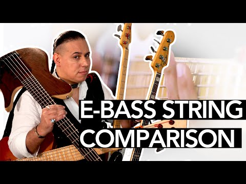 E-BASS STRING TESTING With SNOW OWL By Thomastik-Infeld