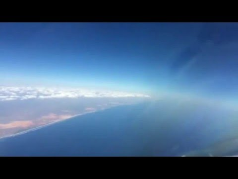 Reliance Air Charters B1900 Time-Lapse into Aden Adde International Airport, Mogadisu - Somalia