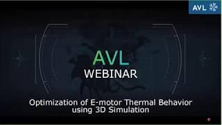 Webinar Intro: Optimization of E-Motor Thermal Behavior using 3D Simulation thumbnail
