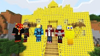 lucky blocks mod castle challenge minecraft modded mini game