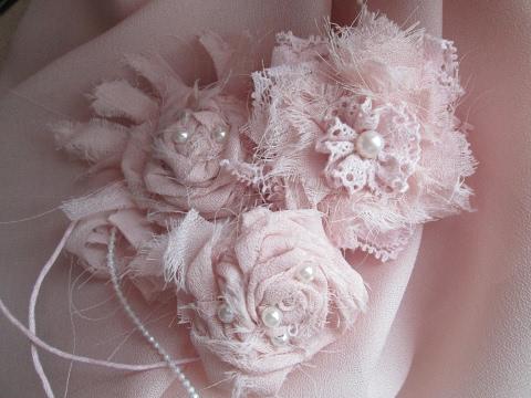 Цветы из ткани цветы из ткани своими руками