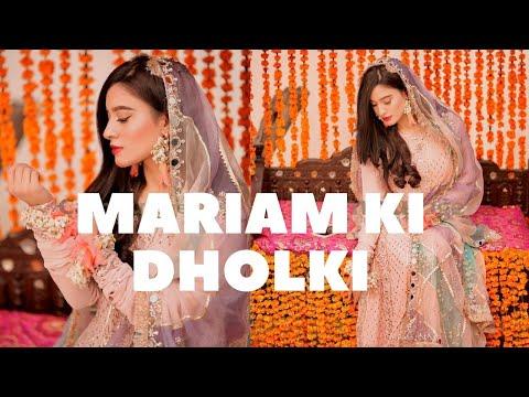 Mariam's Nikkah Vlog Part 1 | Dholki