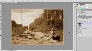 #1 Создание старинной фотографии в Фотошопе [Ps]