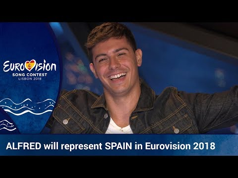 ALFRED will represent SPAIN in Eurovision 2018