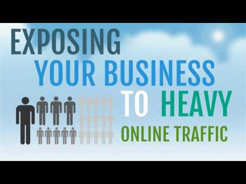 Exposing your business to heavy online traffic