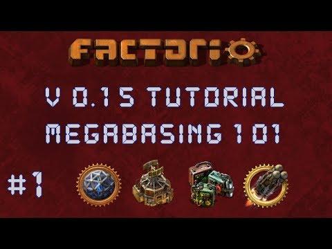 Factorio 0.15 Megabasing 101 Tutorial : Planning & Tips - Multiplayer, Gameplay, Let's Play