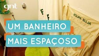 Dicas de como organizar banheiro pequeno | Organização | Santa Ajuda | Micaela Góes