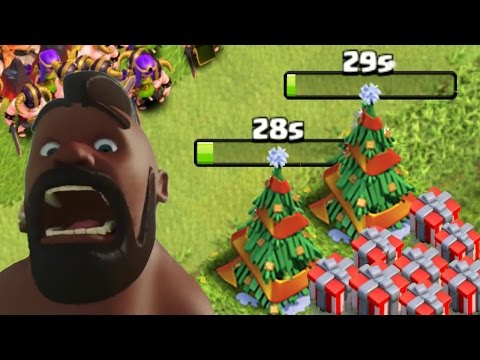 "Thumbnail: Clash Of Clans - ""NEW!"" REMOVING CHRISTMAS TREE! CoC XMAS Update December 2016 (FULL REVIEW)"