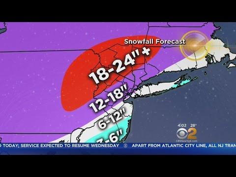 Morning Snow Forecast