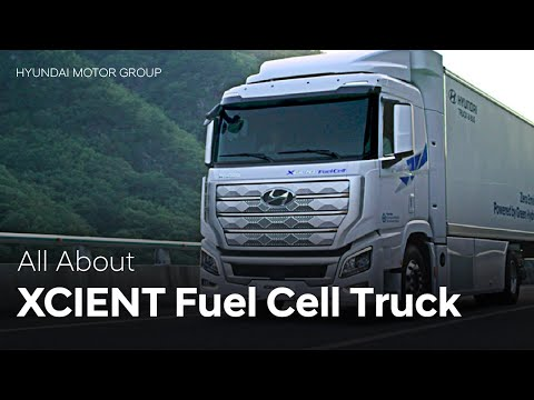 Our Vision of a Hydrogen Society | XCIENT Fuel Cell Truck