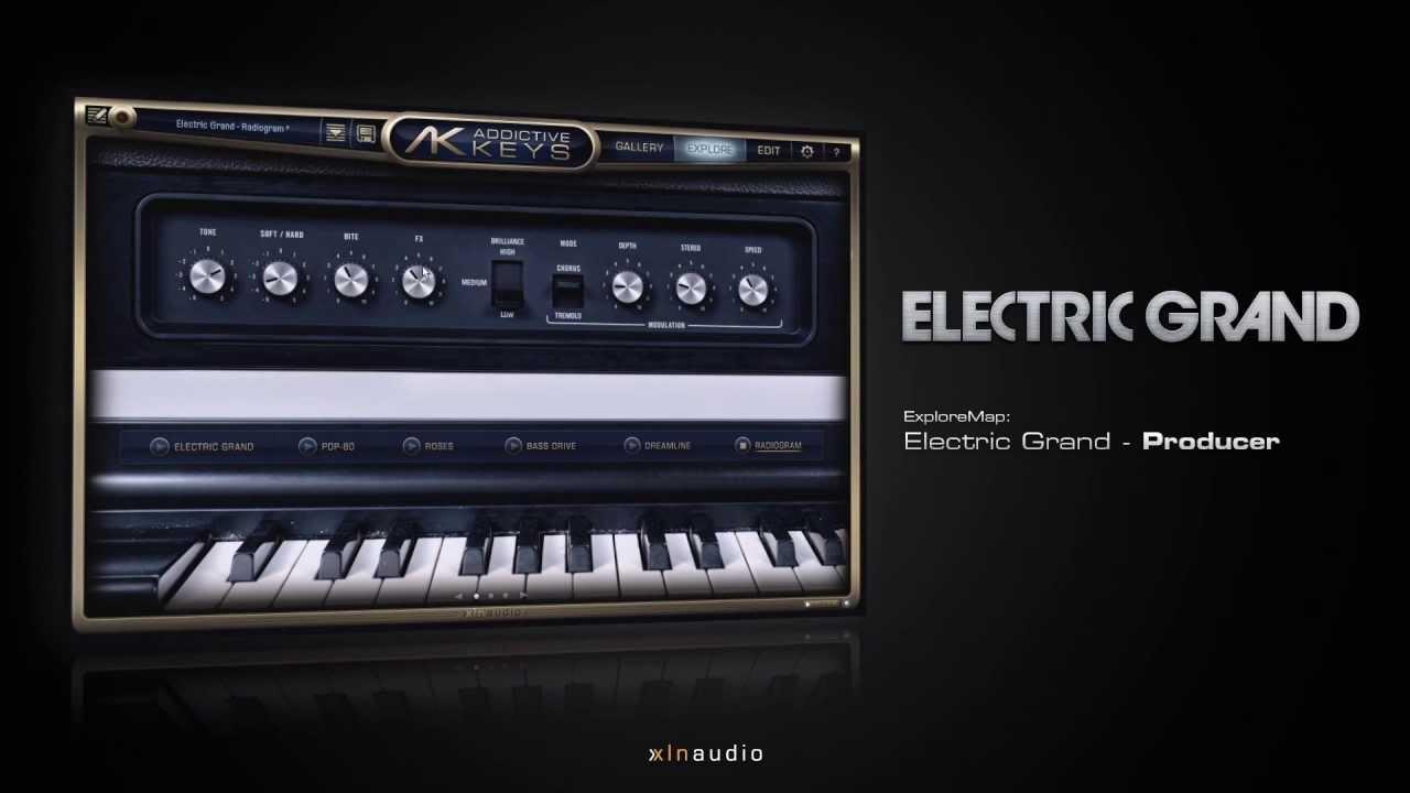 Electric Grand for Addictive Keys - Piano & Keyboard