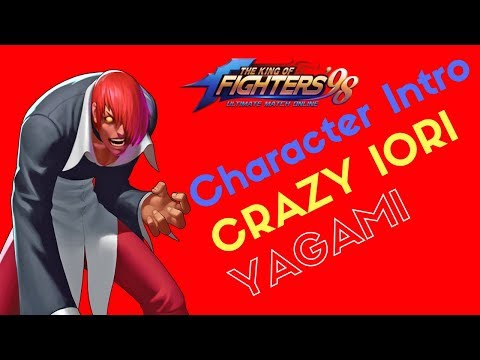 KOF98 UMOL English Character Introduction Crazy Iori