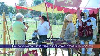 Yvelines | Un camp médiéval s'est installé à Maurepas le temps d'un week end