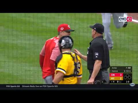 Yasiel puig fight against Pittsburgh pirates
